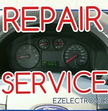 "2004 2005 2006 FORD FREESTAR INSTRUMENT CLUSTER ""SPEEDOMETER""  DISPLAY REPAIR"