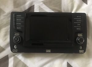 VW Golf MK7 screen radio display, 5G0919605 multimedia touchscreen stereo panel