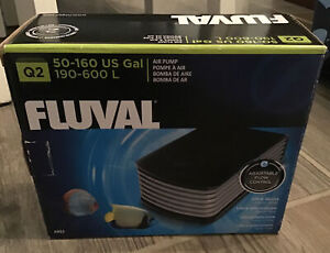 Fluval Air Pump - 50-160 Gallons #A852 New