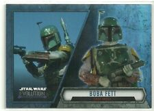 2016 Topps Star Wars Evolution Variation Boba Fett SP Short Print SP-6