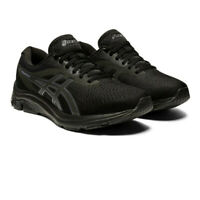 Asics Mens Gel-Pulse 12 Running Shoes Trainers Sneakers Black Sports Breathable