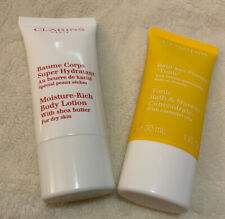 Clarins Moisture Rich Body Lotion 30ml and Tonic Bath & Shower Concentrate 30ml