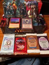 Magic Random Booster Pack X4 From Any Set Plus Foils and RARE P9 Possible