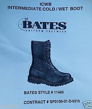 Bates style 11460 Boot.  Genuine Leather  ICW / Gor-Tx  Man Size 8N Made in USA