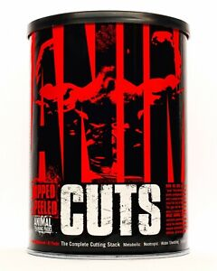 UNIVERSAL NUTRITION ANIMAL CUTS 42 PACKS THERMOGENIC DIURETIC WEIGHT LOSS