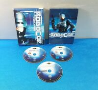 PELICULA DVD PAL CASTELLANO -  ROBOCOP TRILOGIA 3 DISCOS