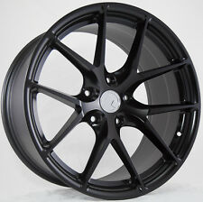 19X8.5 +15 AodHan LS007 5X114.3 Black Wheels Fit ACURA TL TYPE-S 24S0X S15 S14