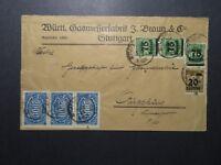 Germany 1923 Inflation Cover / Sm Left Tear / Light Creasing - Z12436
