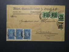 Germany 1923 Inflation Cover / Sm Left Tear / Light Creasing - Z12436