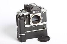 Nikon F2 + Nikon MD-2 + MB-1 inkl MS-1