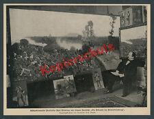 Carl Röchling atelier Berlino Dipinto battaglia ad alte Fried montagna Striegau 1900