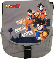 Brand New Messenger Bag - Dragon Ball - Goku, Gohan & Goten New Licensed Ge84667