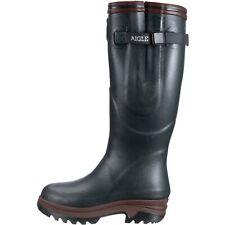 Aigle PARCOURS 2 ISO Unisex Adults' Wellington Boots 4 Green Bronze (RRP £190)