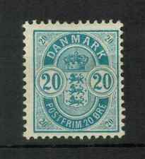 Denmark - 1895 Coat of Arms (48, 20Ore) - Mint Hinged, 357
