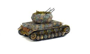 Flakpanzer IV Whirblewind Anti-Aircraft 1:72 Solido Diecast Model Tank 200507
