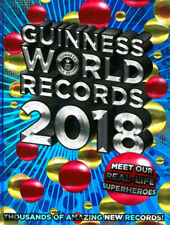 Guinness World Records 2018:Meet our Real-Life Superheroes Hardcover Each SEALED