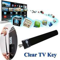 Clear TV Key Full HDTV Free As Seen on TV Indoor TV Digital Antenna Ditch Cable