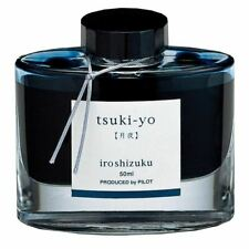 Pilot Iroshizuku (Moonlight - Blue/Black) Tsuki-yo 50ml Bottled Ink