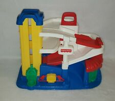 New ListingVintage 1995 Fisher Price Little People Parking Garage Gas Station