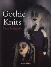 GOTHIC KNITS - FIONA MCDONALD KNITTING INSTRUCTIONAL BOOK GOTH PATTERNS, ROWS