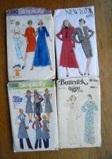 4 Vintage Sewing Patterns Simplicity New Look Butterick