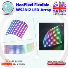 8x8 8x32 16x16 Neopixel WS2812B 5050 Flexible LED Array - Adafruit Arduino Pi