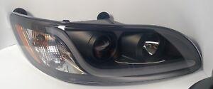 (RH) Blackout Headlight W/ Dual Function LED Running Light for Peterbilt