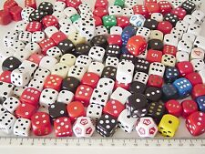 GAME DICE Different Colors Sizes & Styles [Spares Replacements]