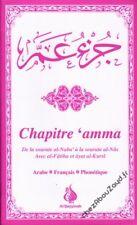 Chapitre 'Amma Rose arabe français phonétique livre islam - NEUF