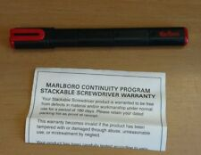Marlboro Cigarettes Stackable Screwdriver
