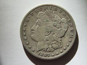 1897 S Silver Dollar