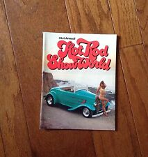 1990 31ST ANNUAL HOT ROD SHOW WORLD CUSTOM CAR PROGRAM,BIKINI MODELS,CHROME,COOL