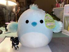 "KellyToy Squishmallow 8"" Cedrick the Light Blue Chick NEW Easter LT ED HTF Plush"