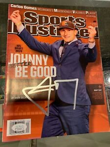 JOHNNY BETTER BE GOOD MANZIEL CLEVELAND BROWNS SIGNED SPORTS ILLUSTRATED JSA