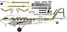 AeroDyne Douglas DC-3 C-47 airliner decals for Minicraft 1/144 kits