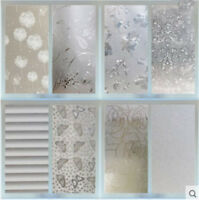 45CMx2M PVC Frosted Privacy Waterproof Bedroom Bathroom Window Film Sticker