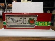 LGB G Scale 4072 Box Car-Miller Beer