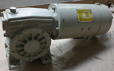 MIKI Pulley 0.4kW DC Electric Motor Gearbox 2500RPM 1:50 Ratio Arm 160v