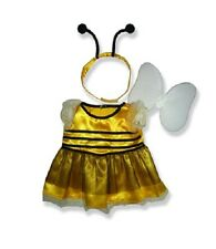 "Buzzy Bumble Bee Costume & Ali Outfit Teddy Bear vestiti adatti a 15"" Build A Bear"