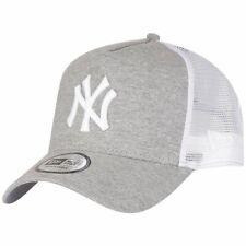 New Era Adjustable Trucker Cap - New York Yankees grau