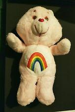 "Vintage Original Kenner 1983 Care Bears CHEER Bear 12.5"" Plush Bear Doll Toy"