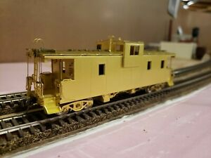 OMI Overland Models Illinois Central Big Porch Caboose Stanray Roof HO