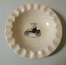 Royal China Made in USA Antique Car Ashtray Winsten Automobile 1898