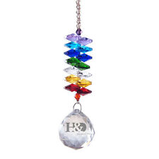 Crystal Suncatcher Rainbow Maker Feng Shui Prisms Pendant Pendulum Hanging Drop