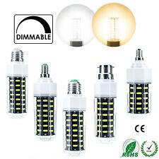 Maíz Bombillas LED regulable E27 E14 B22 E26 E12 22W 27W 30W 36W SMD Luz Lámparas RM25