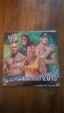 WWF WWE Wrestling Kalender 2015 NEU und OVP Hulk Hogan The Rock Undertaker