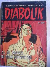 DIABOLIK anno XIV n°11  [G313]