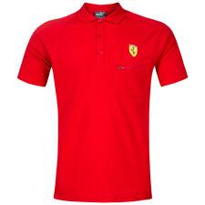 PUMA SF Scuderia Ferrari Herren Polo-Shirt Rosso Corsa Polo-Hemd 762135-01 neu