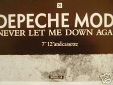 "DEPECHE MODE Never Let Me Down Again UK magazine ADVERT / mini Poster 8x6"""