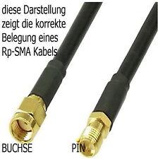 Good Connections WLAN Antennenkabel SMA Reversed Buchs # 8012-03